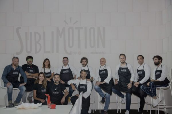 Formando equipo para la nueva temporada de Sublimotion.